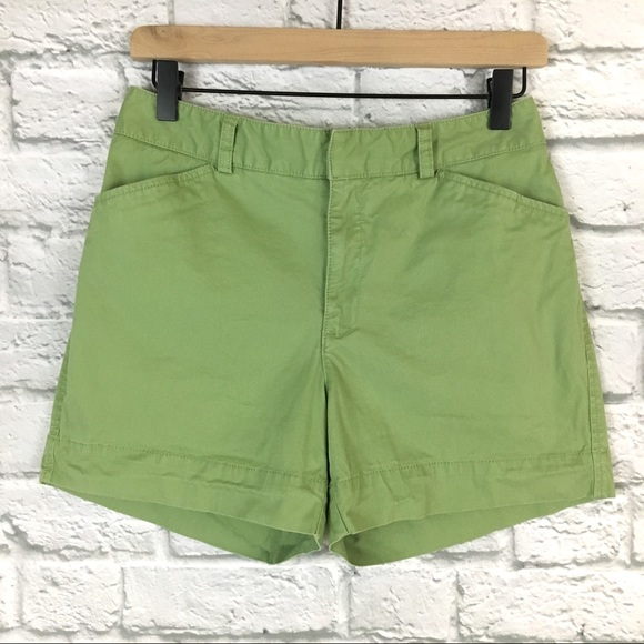 Eddie Bauer Pants - Eddie Bauer Mercer Fit Chino Green Shorts Size 4